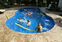 Fiberglass Pools / Fiberglass swimming pools are getting really popular, for a lot of reasons. Here are some pictures of some of the cool fiberglass pools out there. / by Pool Pricer