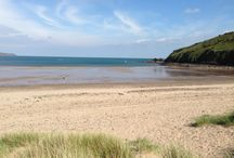 Pembrokeshire Beaches / Pembrokeshire has a wonderful sellection of long sandy beaches and secluded coves... perfect places to escape!
