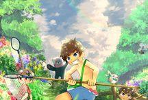 Fanart pokemon Sun and Moon