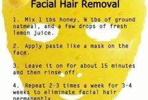 lemon hair remover