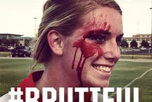 #brutiful / Rugby athletes are some of the most dedicated, beautiful people to play this brutal game. We honor and share these #brutiful people. / by Bakline