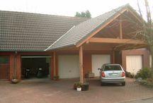 Hus fasade carport