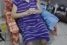 Mária Aparecida Macena Bitencourt / Medical pictures of a close person for a local crowdfunding project