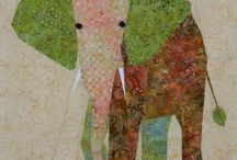 Quilted animals / Some inspirations for my new project ..Will I be able ??