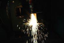 steel beams laser cutting