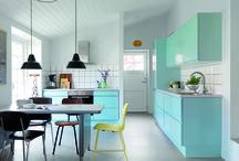 Retro køkkener / Køkken i stram retrostil