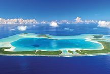 Atolls in the #IslandsOfTahiti / The #IslandsOfTahiti are comprised of 118 islands and atolls. An atoll is a ring-shaped coral reef, or series of islets (motus), that surrounds a lagoon. This month we are going to be featuring some of French Polynesia's most popular atolls: Tetiaroa, Rangiroa, Fakarava, Tikehau and Ahe.