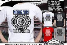 Kaos Logo Inter MIlan | Inter milan logo t-shirt