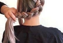 Frisure opsat hår