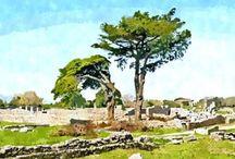 Paestum - Campania / Area archeologica