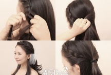 Korean hair (self hair styling~)
