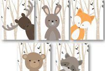 animales bosque