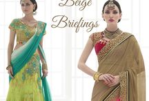 Beige Briefings / Discover your love with #beige. Breezy #sarees in #crepes and #chiffon, welcoming the onset of spring and ideal for #festivals and #wedding. More than 20 designs at http://www.bluekurta.com/index.php?route=product%2Fsearch&filter_name=WSAb611040