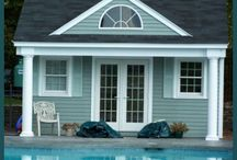 Guest Cottage & Pool House Design Ideas / by Candace Tron-Keeler