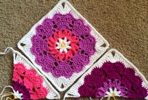 Crochet patterns granny squares
