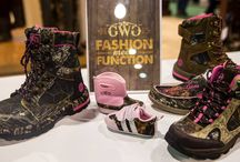 Mossy Oak Footwear Collection by Girls with Guns / We've partnered with Mossy Oak to bring you top of the line, technical women's gear to fit your functional needs in the field.