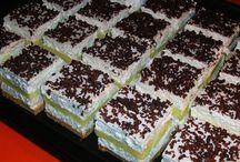 Finom sütik (delicious cakes)