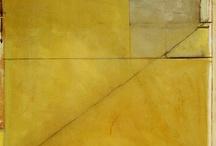 kunst gelb - ocker
