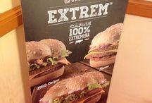 Presentación de las hamburguesas gran extrem, Mc Donadl'