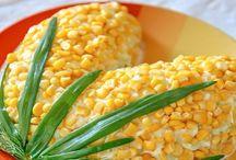 салат Кукурузка без маянеза