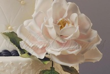 Blumen aus Blütenpaste