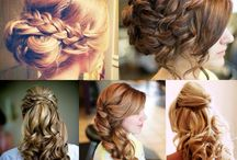 Bridesmaid hair do's