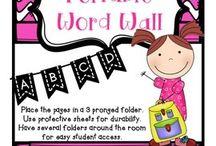 Word Walls- School
