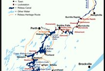 Planning our Rideau Canal Vacation - Sept 2012 / by Terri Parrow Botsford