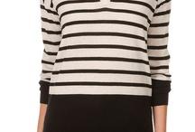 Women knitwear stripes