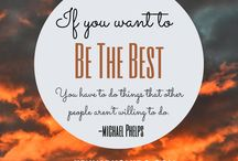 Inspirational Quotes / Inspirational and Motivational Quotes for staying positive and working out!