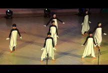 Roliga rörelser danser
