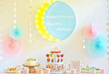Moonlight 1st Birthday Party