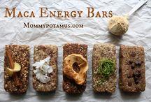 Raw Vegan Bars, Granola