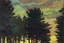 landscapes / landscapes, paintings of nature
