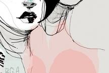 Illustrations / by Tania Cavenecia Torres