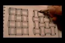 Zentangles - vzory