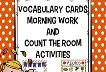 Fall / The fall or autumn season in Kindergarten is a great time! This board is full of great ideas, strategies, tips, resources, FREE downloads, and more to help you make the most of September, October, and November with your Kinder students. You'll also find a few ideas you can use with your 1st, 2nd, 3rd, 4th, or 5th grade classroom or homeschool students!