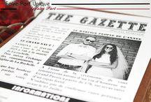 Gazette mariage