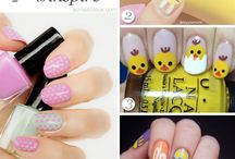 Nail Art - Easter Nails