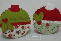 Crafty Inspirations- Cards, Holiday / by Jennifer Carter