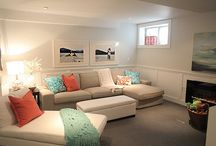 Basement / Playroom Ideas / by Laura H -- Hoosier Life, Hoosier Wife