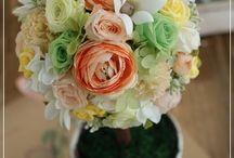 【出産祝のお花】プリザーブドフラワー / Flower noteのプリザーブドフラワー。  出産祝いのアレンジギャラリーです
