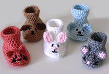 Crochet and needles