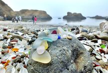 Soothing Sea / experiencing the sensorial benefits of the ocean, sea glass finds and projects, sea shells art, sea glass and sea shell DIY projects,  how to have fun and stay safe at the beach, sea photography