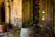 Tuscan backyard