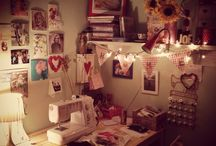 Sew Millamoo All sorts  / Here is a mixture of my work but also me at work! A welcome to Sew Millamoo HQ