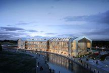 """라베니체 마치에비뉴 C4-9BL, No.1 - """"LAVENICHE MARCH AVENUE, Gim-po"""" / 2016, 경기도 건축문화상 입선, """"라베니체 마치에비뉴 I"""" 테마형 수변 문화상업시설 2016, Gyeonggi-do Design Award, """"LAVENICHE MARCH AVENUE I"""" Theme Canal & Street Mall Commercial Complex  C4-9BL, No.1 Project """"LAVENICHE MARCH AVENUE  : Culture Theme Canel & Street Mall  / """"라베니체 마치에비뉴"""" 첫 번째 프로젝트 C4-9블록 수변상업시설"""