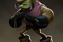 monster-character design