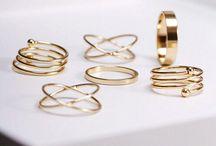 Rings boho