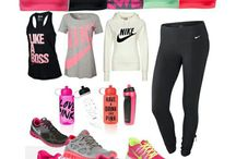 Workout clothes / Here's some cute outfits for working out